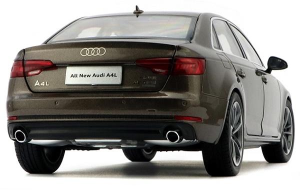โมเดลรถ โมเดลรถเหล็ก โมเดลรถยนต์ Audi A4L brown 2