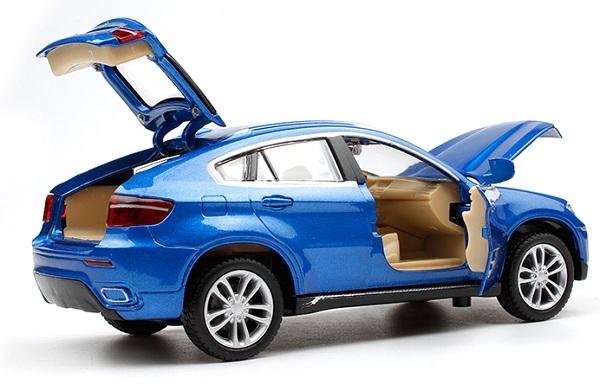 โมเดลรถเหล็ก โมเดลรถยนต์ bmw x6 5