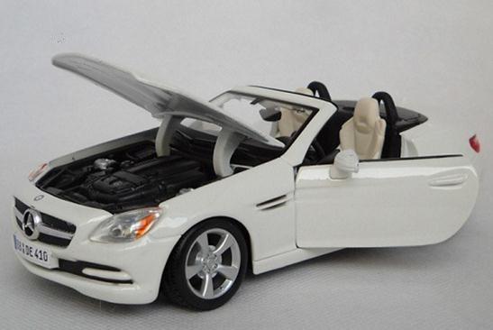 โมเดลรถ โมเดลรถยนต์ รถเหล็ก benz SLK 4
