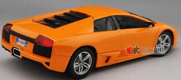 โมเดลรถ โมเดลรถเหล็ก โมเดลรถยนต์ Lamborghini LP640 orange 2