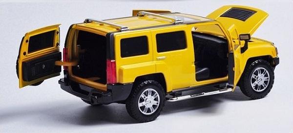 โมเดลรถเหล็ก โมเดลรถยนต์ Hummer H3 5
