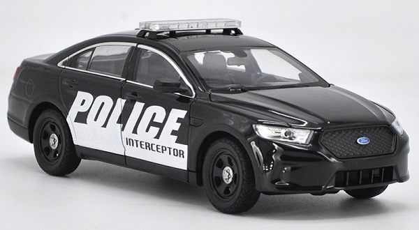 โมเดลรถยนต์ โมเดลรถเหล็ก Ford ตำรวจ 2