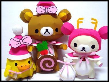 ชุดหมีคุมะ 3