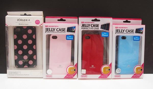 เตส ไอโฟน 4 +4 S สีสัน + ลายน่ารัก
