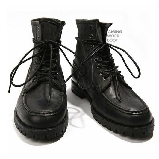 รองเท้าผู้ชาย | รองเท้าแฟชั่นชาย รองเท้าบูทหนัง แฟชั่นเกาหลี