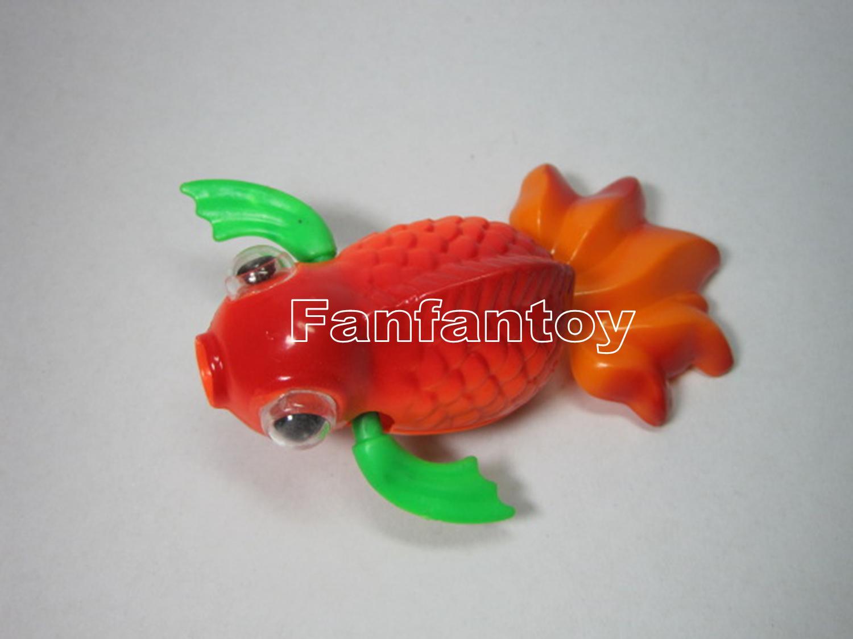 ปลาทองว่ายน้ำ ไขลาน ของเล่นเด็ก