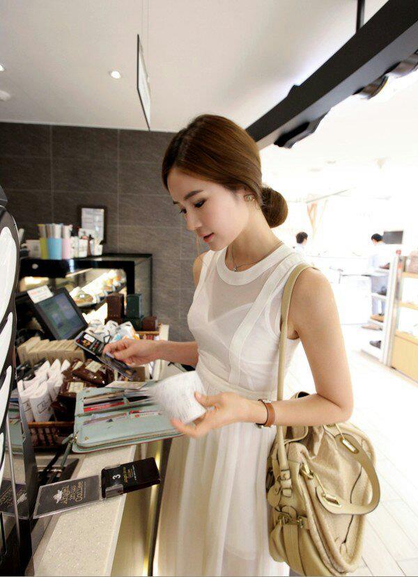 [[พร้อมส่ง]] bykp07/047 summer maxi style korea แม๊กซี่ยาวสุดหรู ลุคผู้ดี ค่ะ ตัวนี้งานสวยมากค่ะ เนื้อผ้าชีฟองเกรดดี