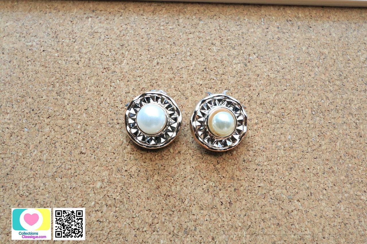 ต่างหูหนีบ Clip on Earrings CE79018