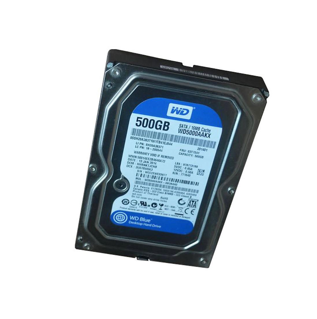 [HDD] 500G/7200/16M SATA 3 PC คละยี้ห้อ