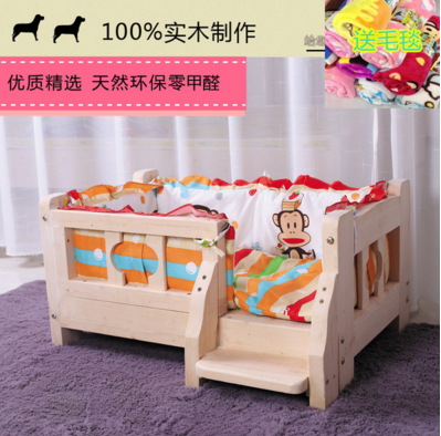 เตียงนอนไม้สำหรับหมาแมว มีหลายขนาด