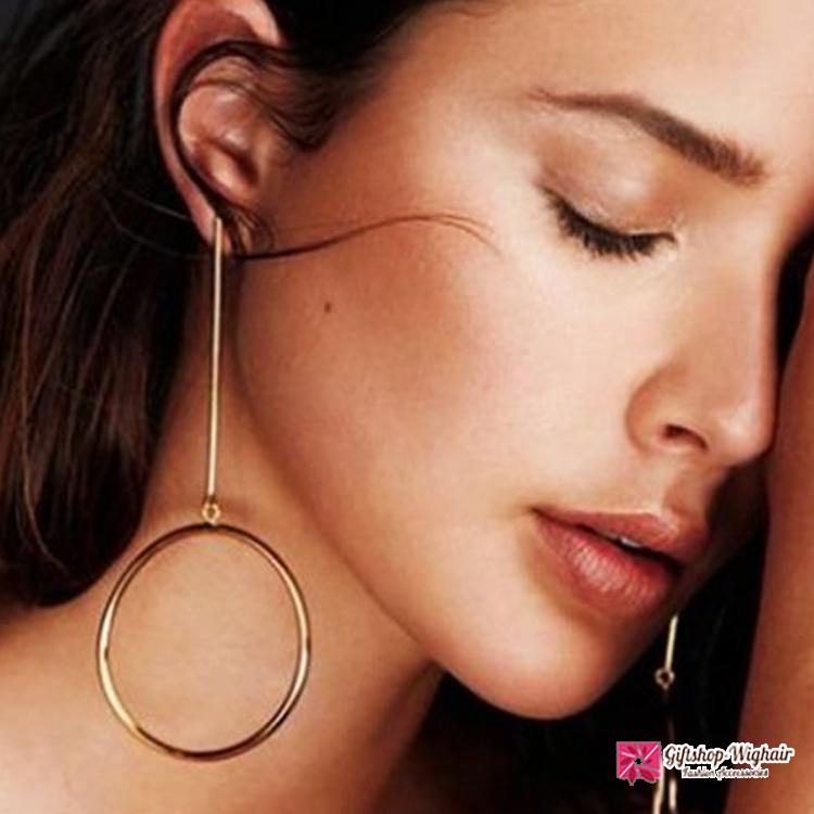 ต่างหุ แฟชั่น Simple earrings ear pendants