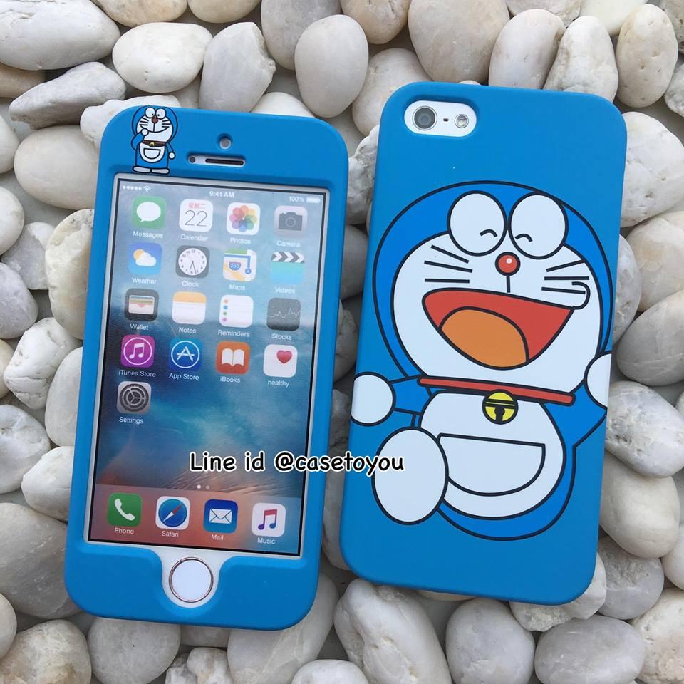 เคสประกบหน้า-หลัง Doraemon 03 iPhone 5/5S เท่านั้น