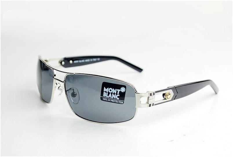 แว่นตาหรูกันแดดสำหรับสุภาพสตรีและสุภาพบุรุษโพลาไรซ์ ใหม่ รุ่น WBL85S สีดำ
