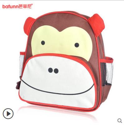 กระเป๋าเป้ zoo pack ยี่ห้อ bafunn ลายลิง