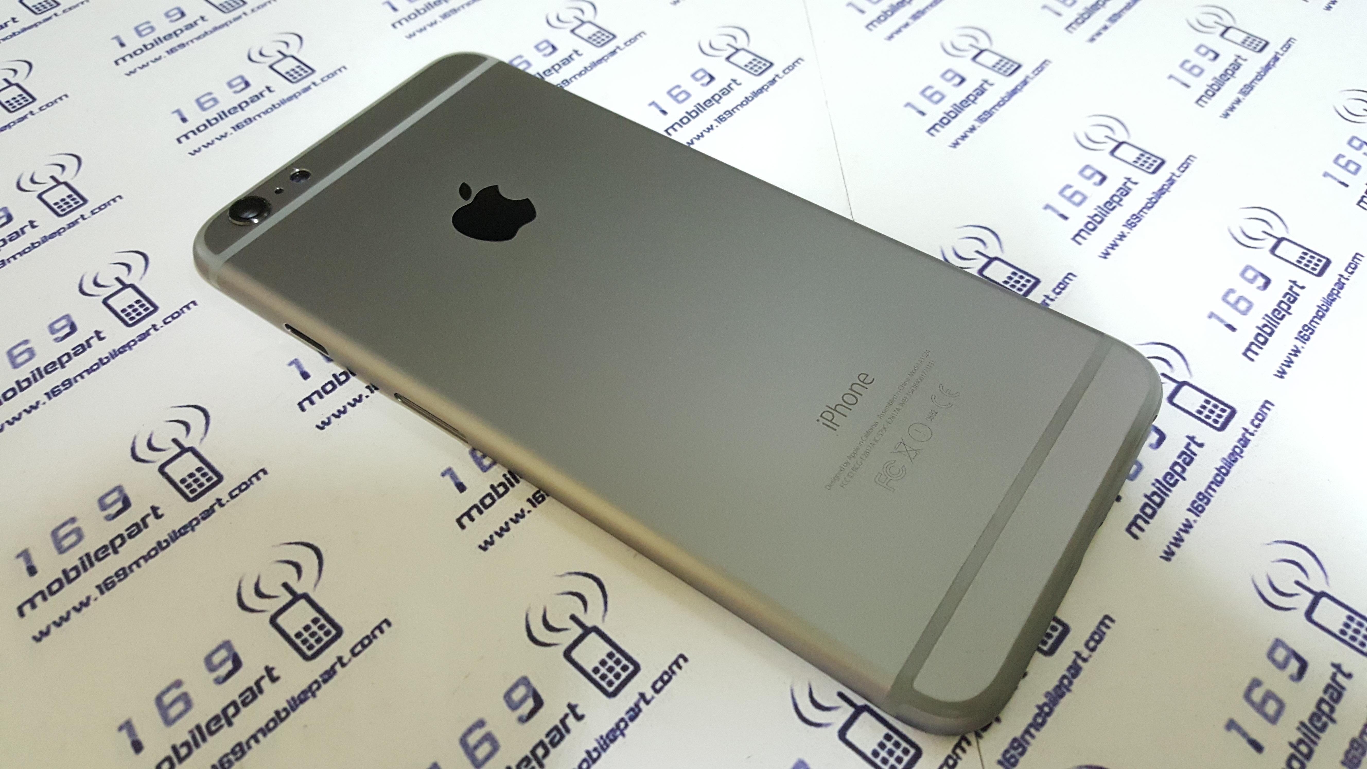 """บอดี้ iPhone 6 Plus 5.5"""" สีดำเทา แท้"""