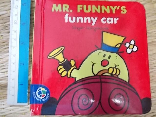 Mr.Funny's Funny Car (Board Book)