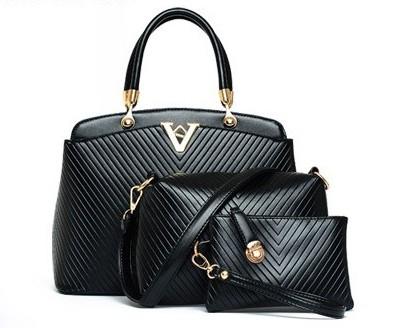 กระเป๋าแฟชั่น สีดำ รหัส AB2