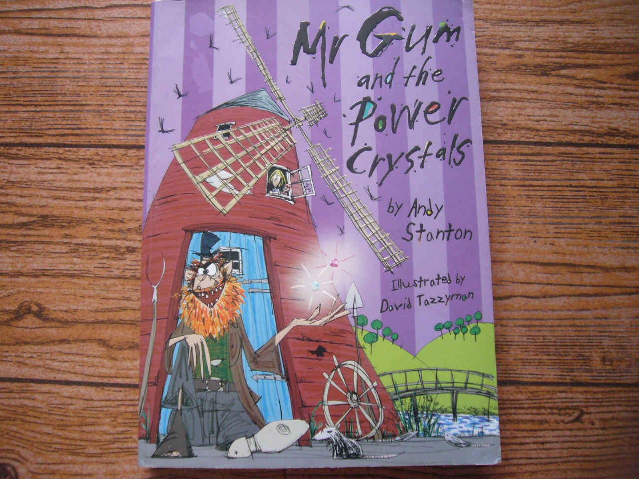 Mr.Gum and the Power Crystals