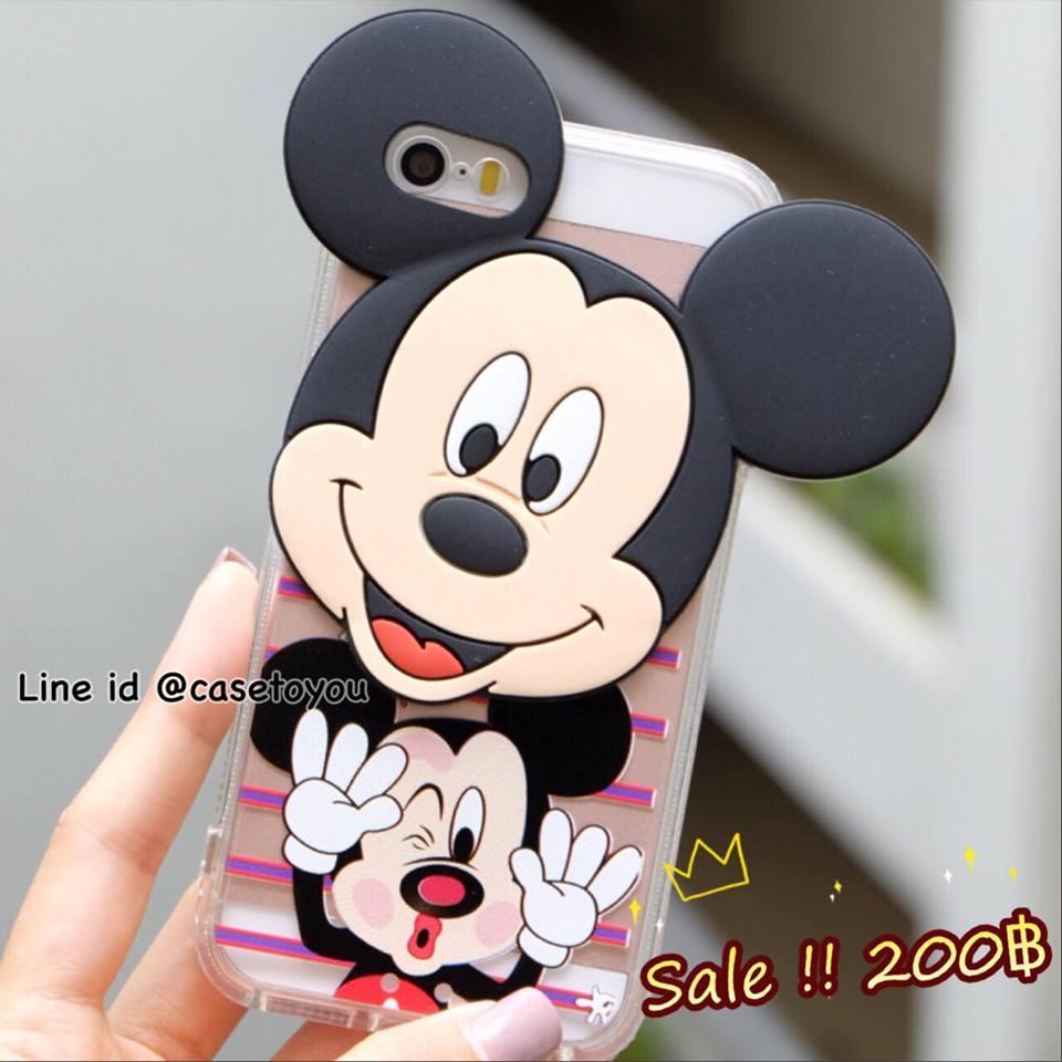 Superstar Mickey Mouse หัวโต iPhone 5/5S/SE