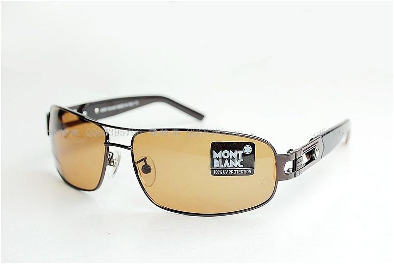แว่นตาหรูกันแดดสำหรับสุภาพสตรีและสุภาพบุรุษโพลาไรซ์ ใหม่ รุ่น WBL85S สีน้ำตาล