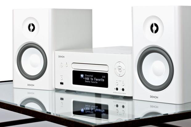 ชุดเครื่องเสียง DENON RCD-N7 (White) ชุดเครื่องเสียงที่รองรับการเชื่อมต่อแบบไร้สายด้วยเทคโนโลยี Air Play