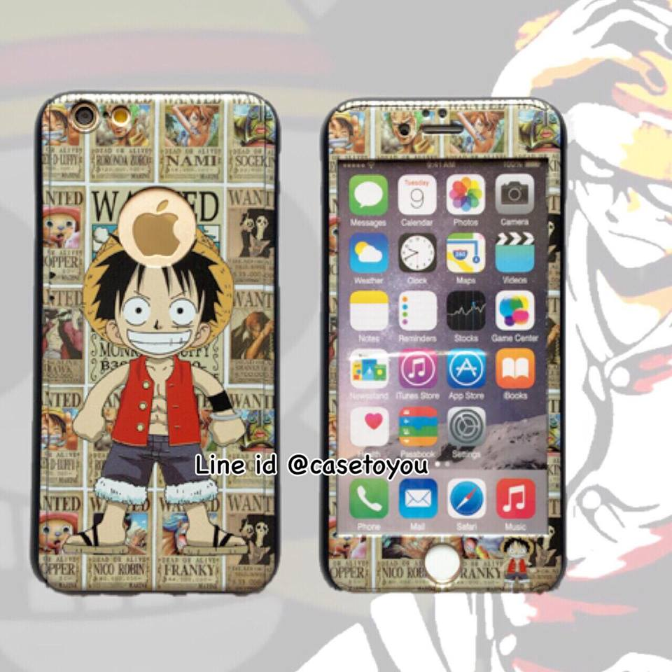 เคสประกบ 360 องศา Onepiece iPhone 6/6S