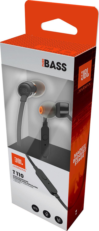 JBL T110 In-Ear Headphone black 490บาท