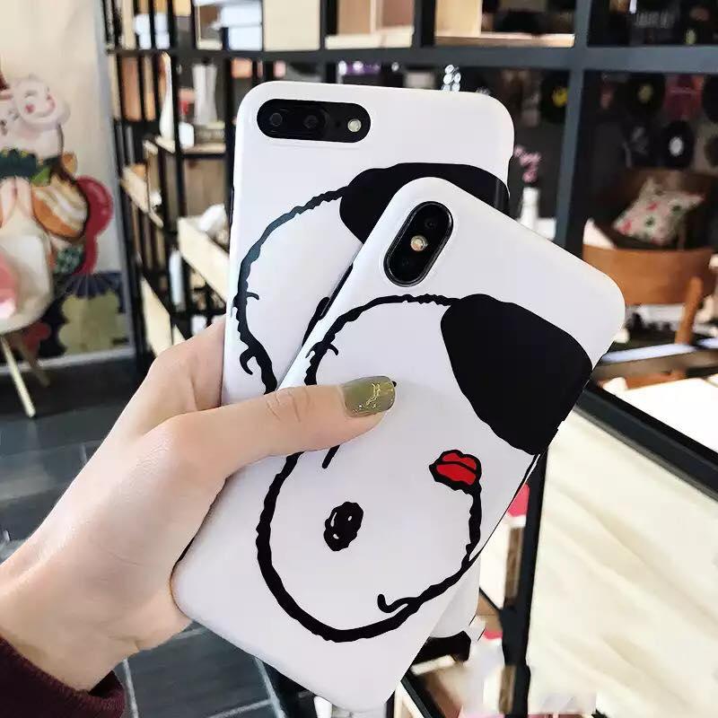 เคสนิ่ม Snoopy iPhone X