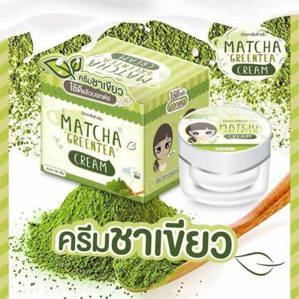 ครีมชาเขียว มัทฉะกรีนที Matcha Greentea Cream