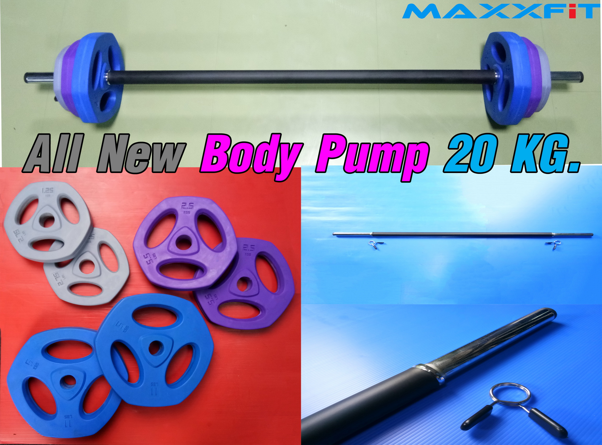 ขาย All New Body Pump 20 KG.
