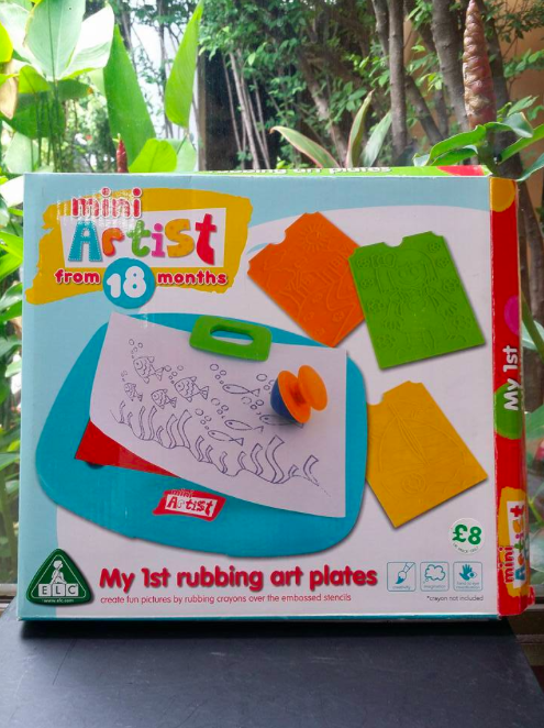 (Mini Artist) My 1st Rubbing Art Plates