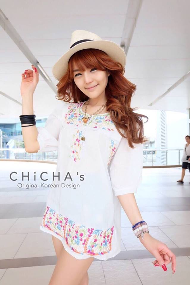 Sweetie Embroidery Dress C159-52A04