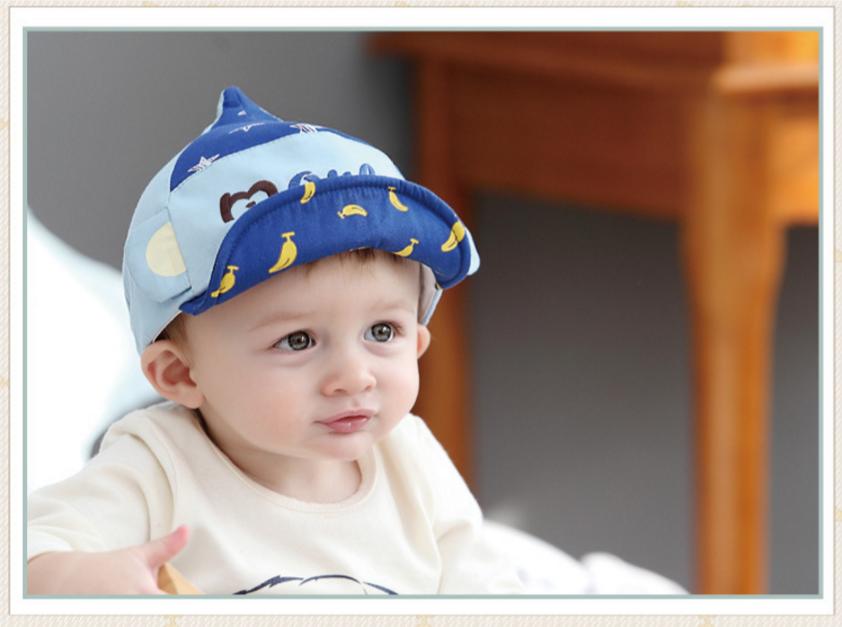 HT331••หมวกเด็ก•• / หมวกแก็ป Monkey (สีฟ้า)
