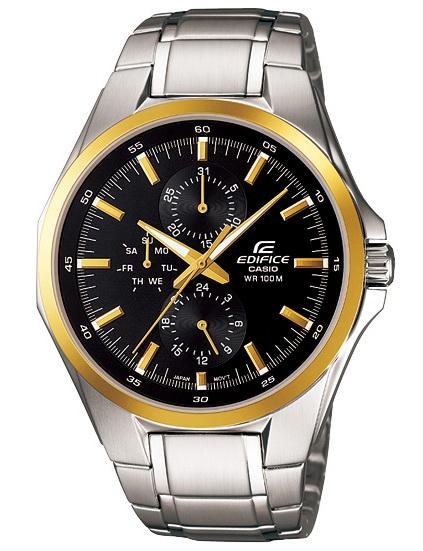 นาฬิกาข้อมือ CASIO EDIFICE MULTI-HAND รุ่น EF-339DB-1A9V