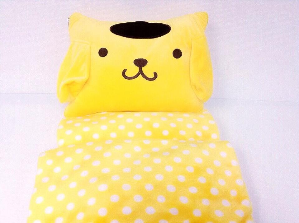 หมอนผ้าห่ม Pompompurin ขนาด 3 ฟุต