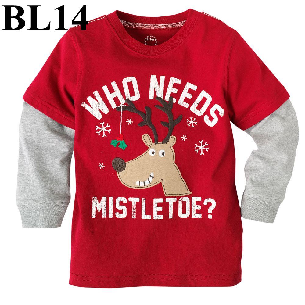 (BL14) เสื้อแขนยาว ไซส์ 2T (ผ้าดีมาก หนา นิ่ม สำหรับเด็ก 2-3ขวบ)