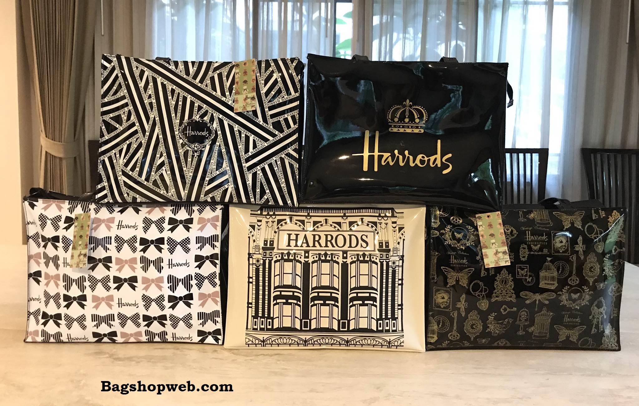 Harrods Large Shoulder Bag