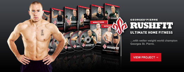 RUSHFIT 8 Week Training Series 6 DVDs