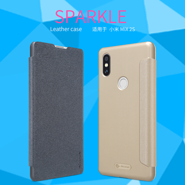 เคส Xiaomi Mi Mix 2S - Nillkin Sparkle Leather Case