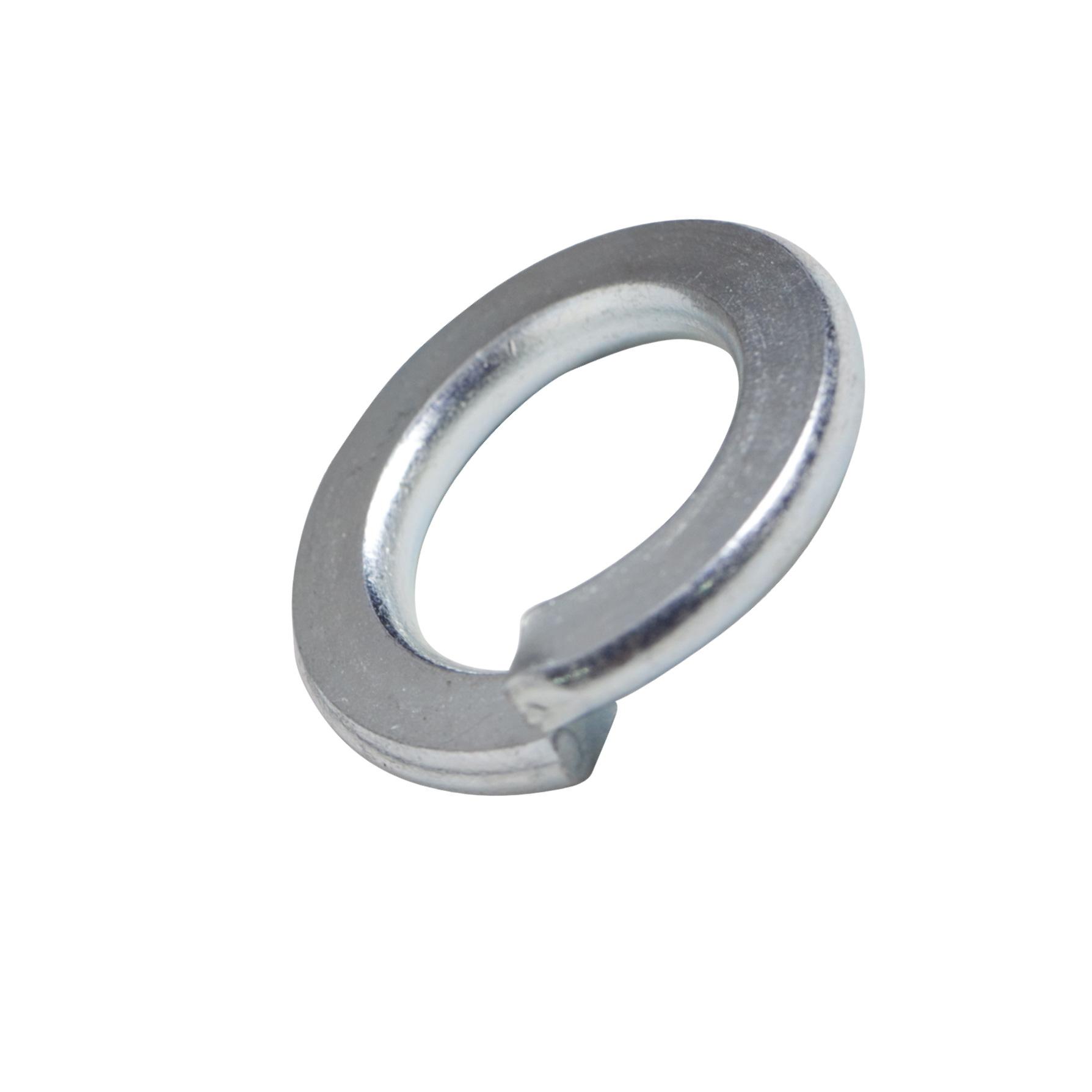 แหวนสปริงขาว