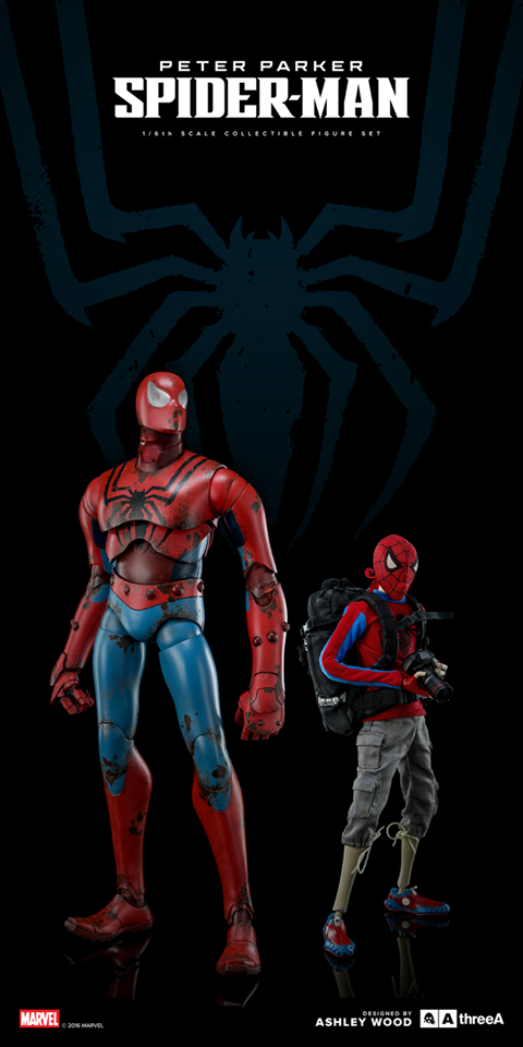 threeA Spider-man retail version