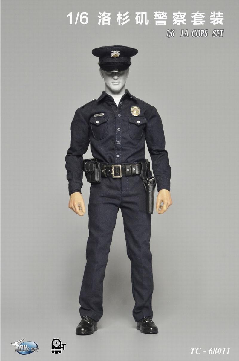 ToysCity TC68011 1/6 LA COPS SET