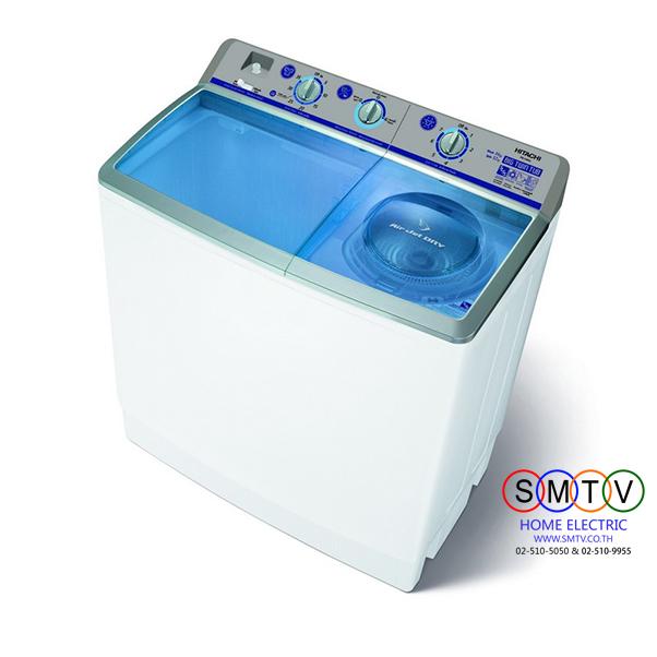 เครื่องซักผ้าฝาบน 2 ถัง 14 กก. HITACHI รุ่น PS-140WJ มีโปรโมชั่นผ่อน 0%
