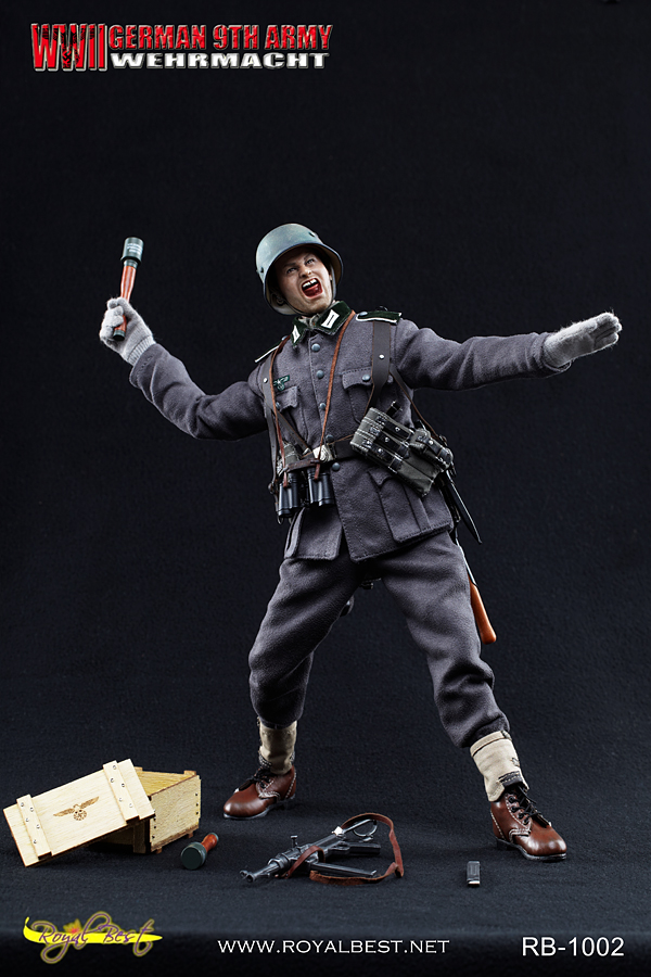 "Royal Best 1/6 th scale WW2 German 9th Army WEHRMACHT - ""Johann Alber"""