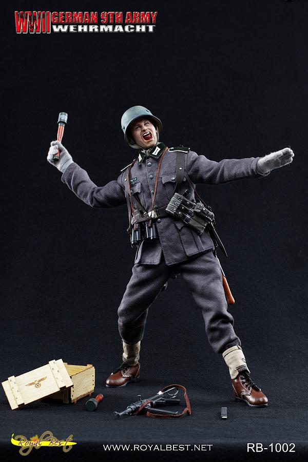 """Royal Best 1/6 th scale WW2 German 9th Army WEHRMACHT - """"Johann Alber"""""""