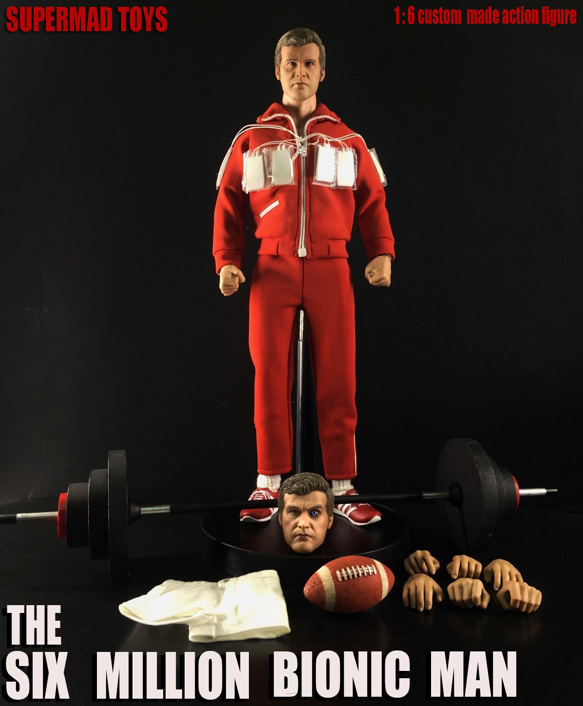 SUPERMAD TOYS SMT004 1/6 The Six Million Bionic Man