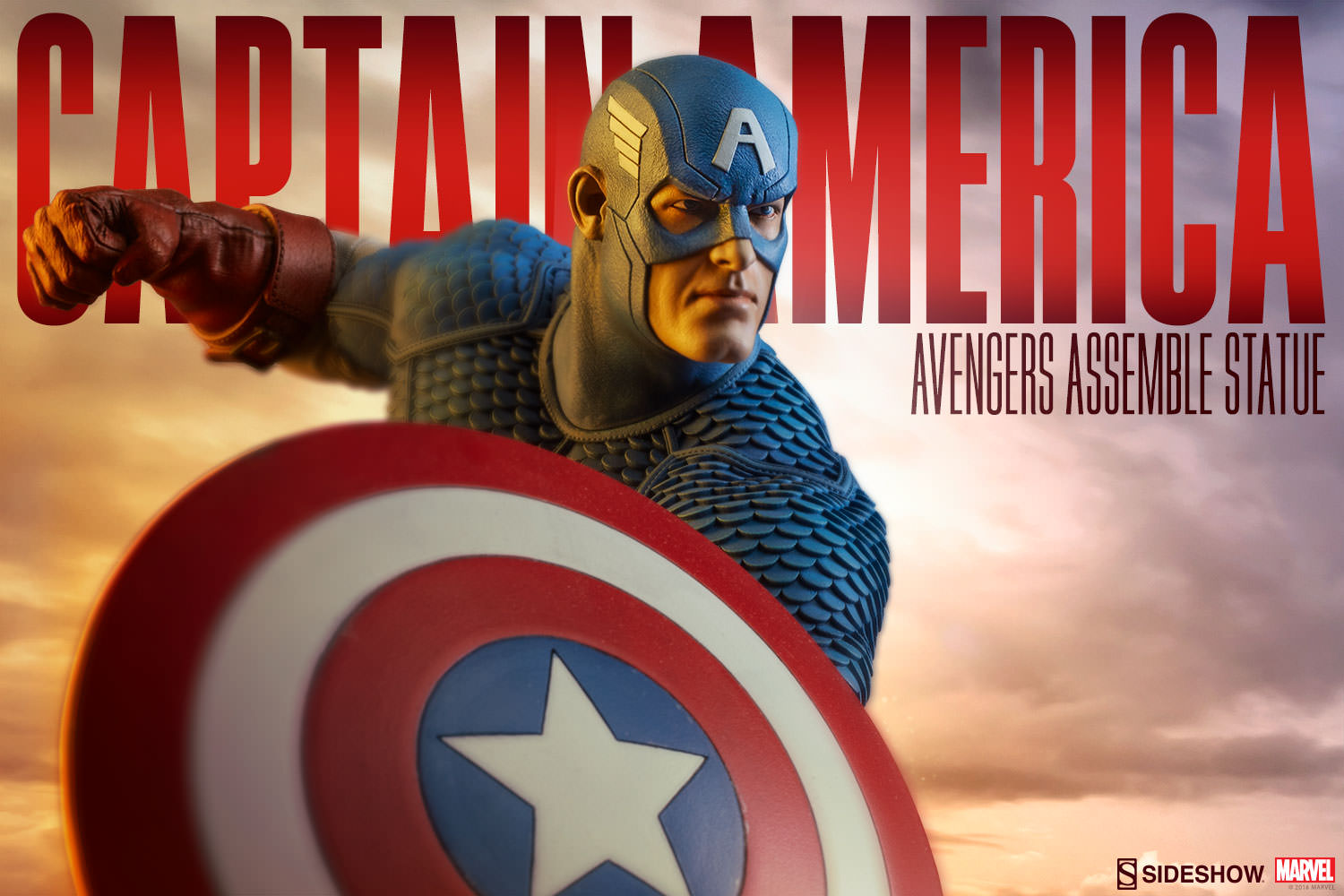 Captain America Statue by Sideshow Collectibles