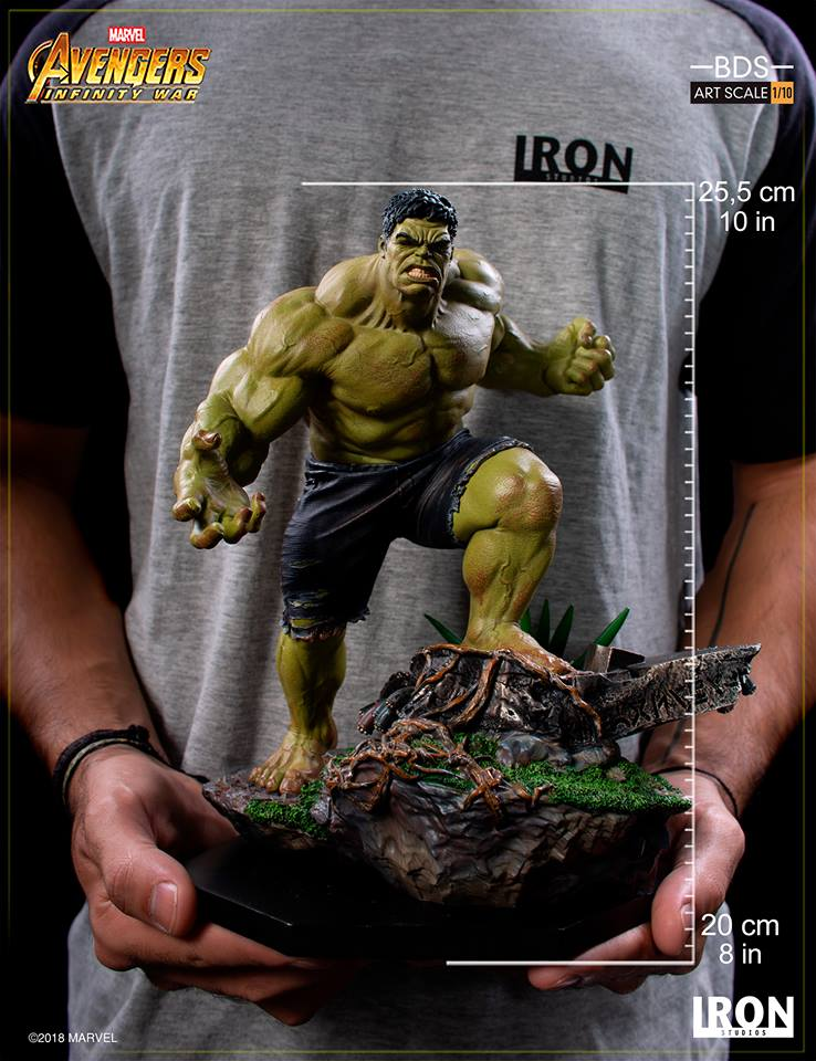 29/05/2018 Iron Studios - Hulk BDS Art Scale 1/10 Avengers Infinity War