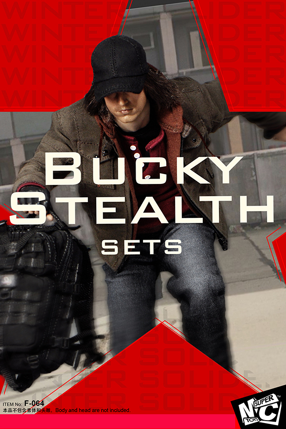 SUPERMCTOYS F-064 Bucky Stealth Sets