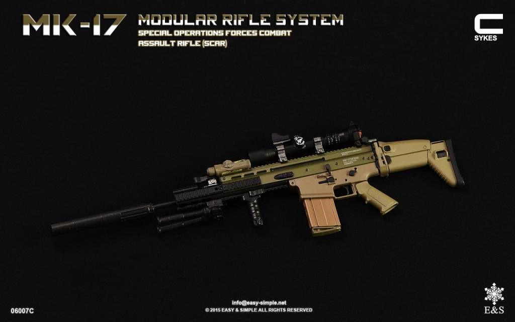 Easy & Simple 06007C MK-17 MODULAR RIFLE SYSTEM